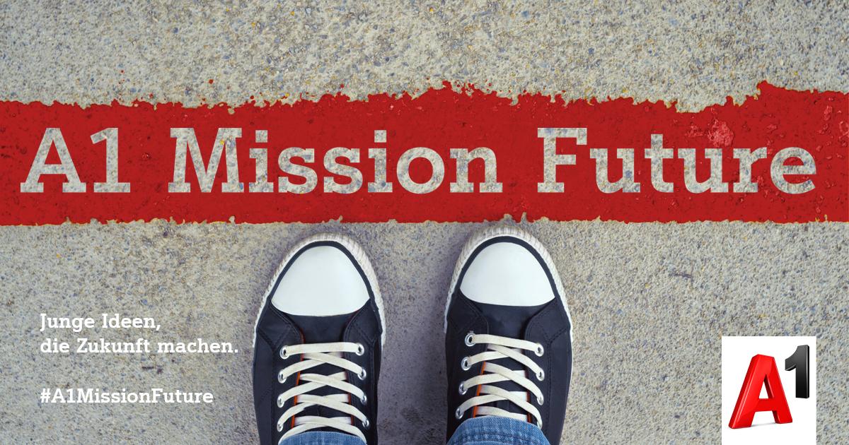 A1 Mission Future: Junge Ideen, die Zukunft machen.